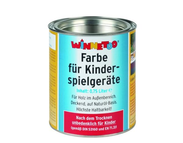 Winnetoo Farbe erdbraun 750 ml, Nr. 1754