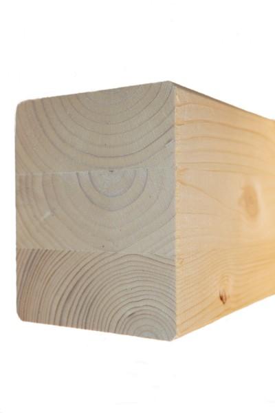 10 x 12 cm Leimholzbinder Fi. BSH GL 24 c/h EN 14080-2013, hell verleimt