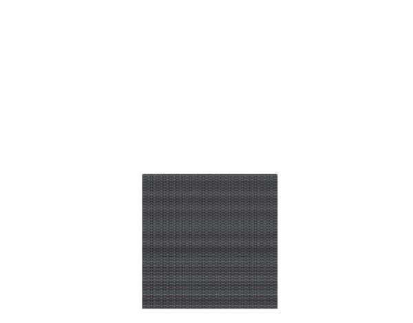Weave Rechteck anthrazit 88 x 88 cm, Nr. 2022