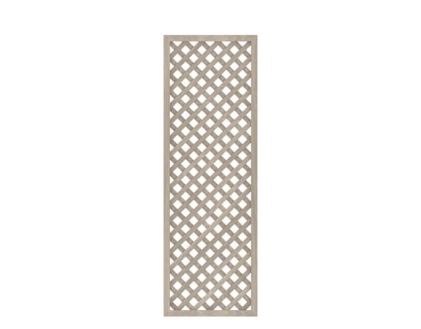 LONGLIFE Diagonalgitter Polareiche 60 x 180 cm, Nr. 2454