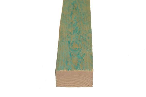 28 x 48 mm Latten grün imprägniert