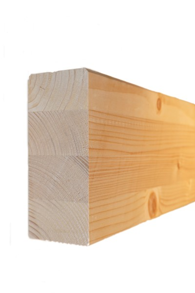 6 x 14 cm Leimholzbinder Fi. BSH GL 24 c/h EN 14080-2013, hell verleimt