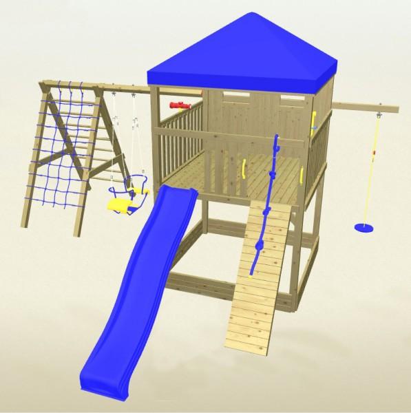 Winnetoo Spielturm Detektiv 6 Komplettset