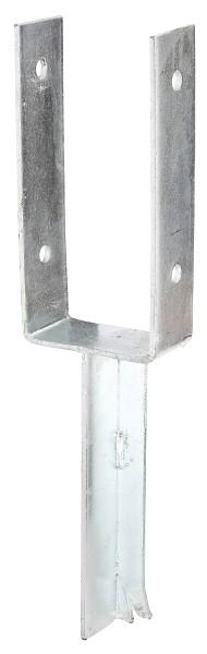 Alberts U-Pfostenlasche schwer mit Betonanker  91/200  216771