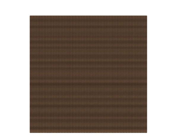 Weave Rechteck mocca 178 x 178 cm, Nr. 2010