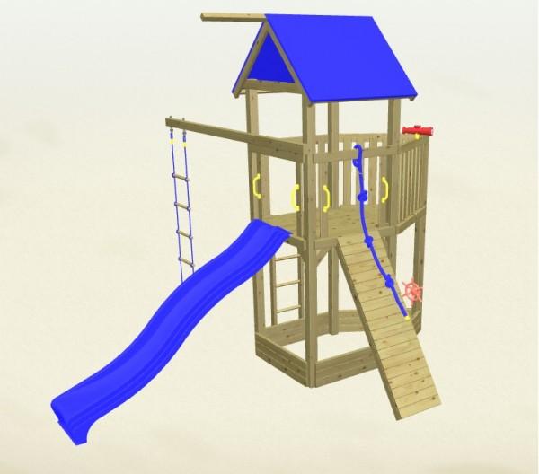 Winnetoo Spielturm Pirat 3 Komplettset