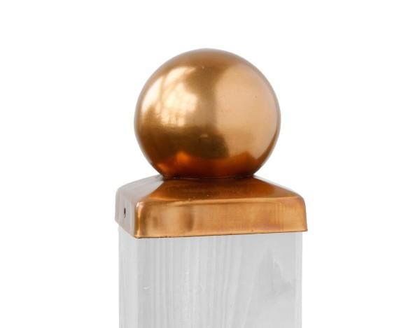 Kugel-Pfostenkappe Kupfer 90 Nr.0851  217310