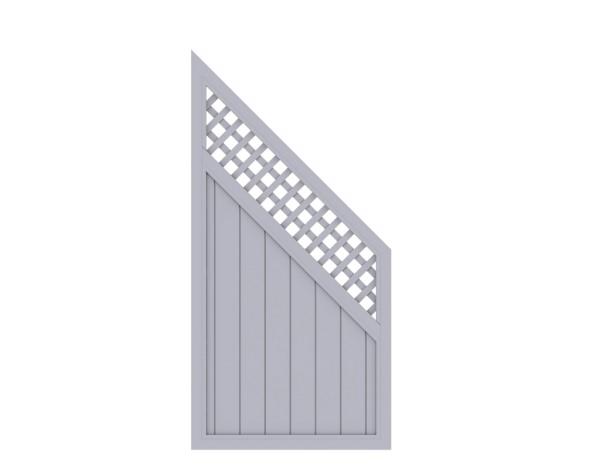 LongLife Riva mit Gitter Anschluss Grau Nr. 1823