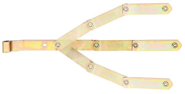 Alberts Bogen-Ladenband  600mm verzinkt, einstellbar   318307