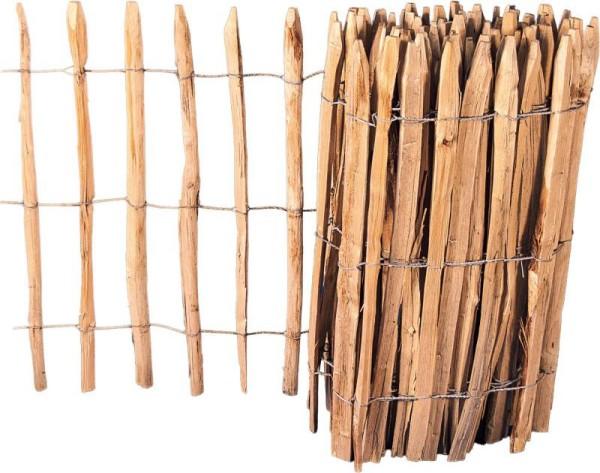 Kastanien-Rollzaun 90 x 460 cm Abstand 7,5cm  8.70090
