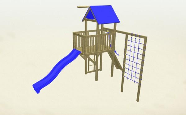Winnetoo Spielturm Indianer 2 Komplettset