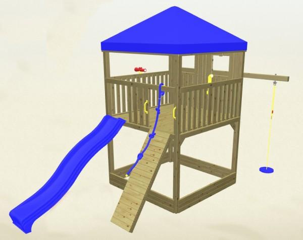 Winnetoo Spielturm Detektiv 4 Komplettset
