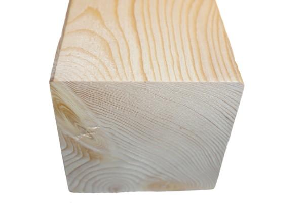 10x10 cm KVH Konstruktionsvollholz Fi/Ta, egalisiert, gefast