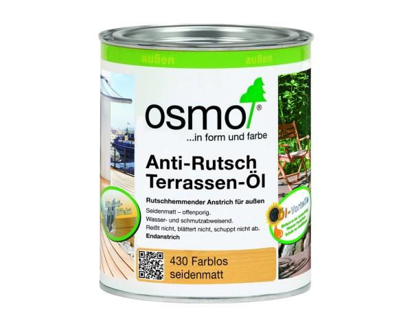 OSMO Anti-Rutsch Terassen-Öl Farblos  430      0,75 l