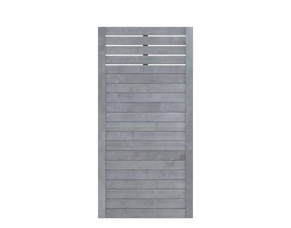 Traumgarten Rechteckzaun Neo Design mit Gitter, grau las. 89 x 178 Nr. 1348