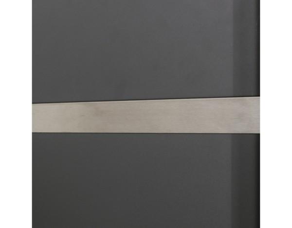 System Blende für Lichtleiste einseitig, 180 cm, Nr.0346