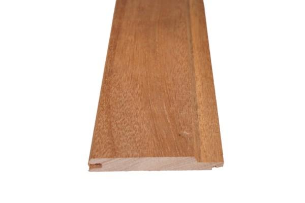 12,5 x 94 mm Dark Red Meranti Profilholz