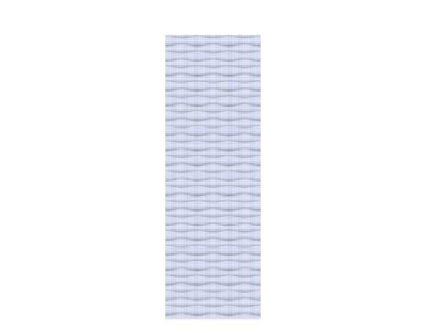 FLOW Gitter silber 60 x 180 cm, Nr. 2745
