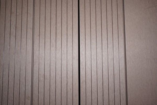 40 x 50/60 mm WPC Nature Deck Abschlußprofil Mahagoni