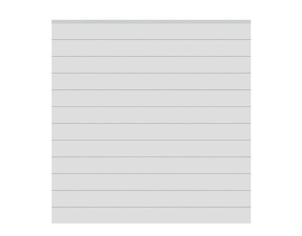 System Zaun-Set ALU silber Nr.2235