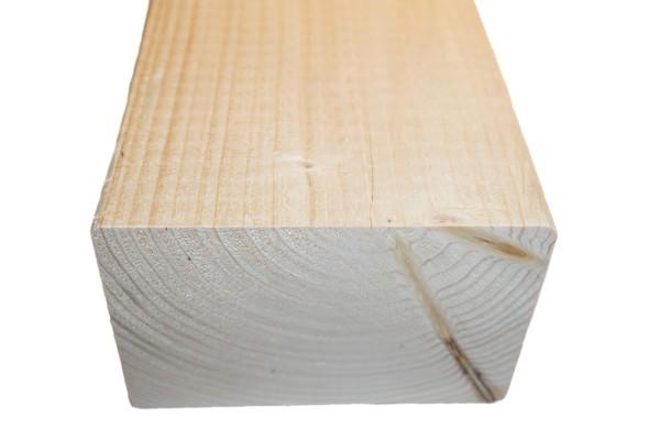 8x12 cm KVH Konstruktionsvollholz Fi/Ta, egalisiert, gefast