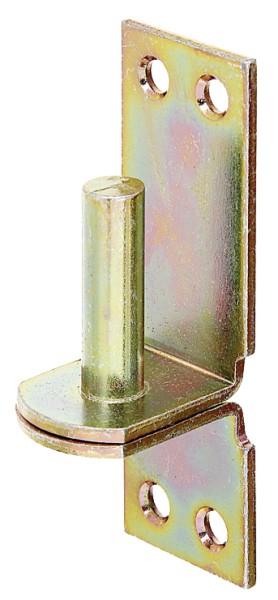 Alberts DI-Haken auf Platte verzinkt   10 mm        311155