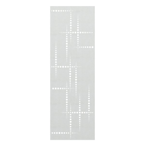 System Gitter Metall Puls silber, Nr.2833