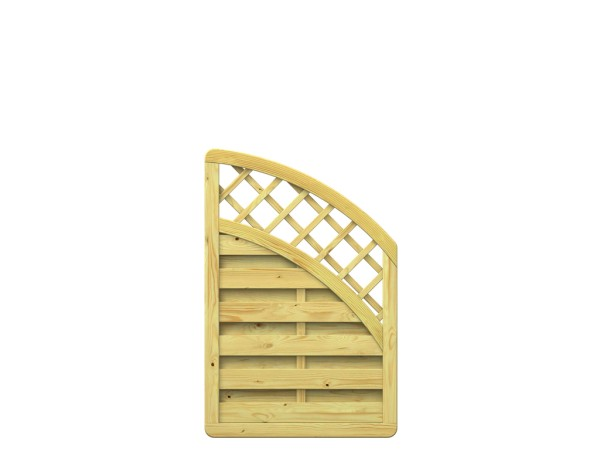 Traumgarten XL Anschluss-Zaun mit Gitter Nr.1199