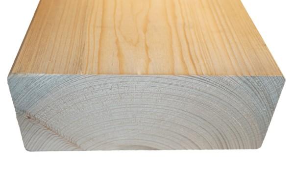 8x20 cm KVH Konstruktionsvollholz Fi/Ta, egalisiert, gefast