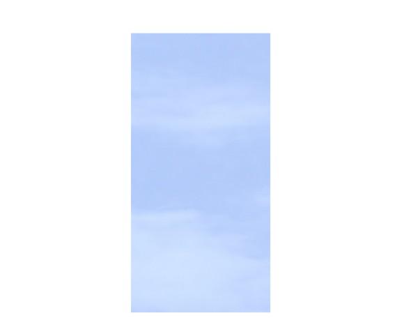 TR Glas Systemzaun Rechteck KLAR 90 x 180 cm, Nr. 2301