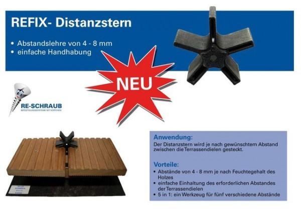 Refix Distanzstern (Beutel a 4 Stück)