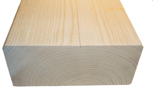 8x18 cm KVH Konstruktionsvollholz Fi/Ta, egalisiert, gefast