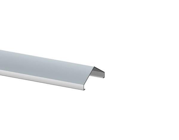 Weave Designaufsatz alu 56-60x1800 mm, Nr. 2042