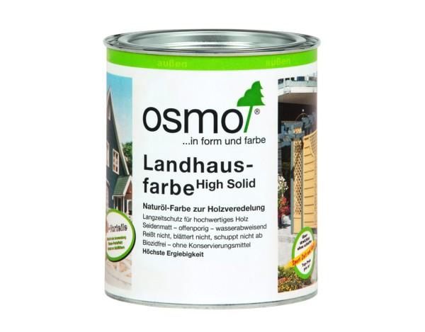 OSMO Landhausfarbe 0,750 l  schwarzgrau  2703