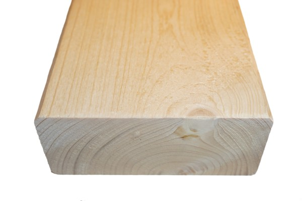6x14 cm KVH Konstruktionsvollholz Fi/Ta, egalisiert, gefast