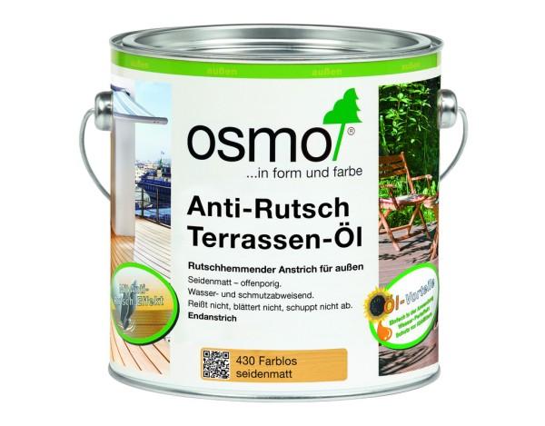 OSMO Anti-Rutsch Terassen-Öl Farblos  430       2,5 l