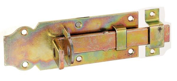 Alberts Schloßriegel m. Schl. mont.,gerade,verz.140mm 116774