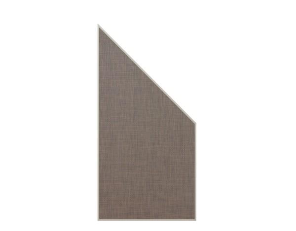 Weave Lüx Anschluß bronze 88 x 178/88 cm, Nr. 2028