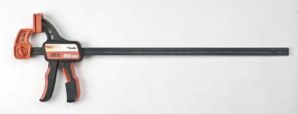 KWB Terrassenschnellspann- Zwinge 450 mm, Art.Nr. 928745