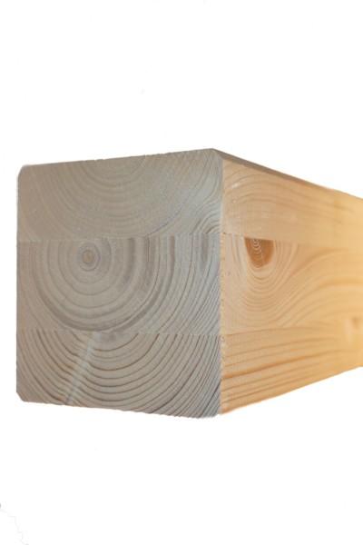 10 x 10 cm Leimholzbinder Fi. BSH GL 24 c/h EN 14080-2013, hell verleimt