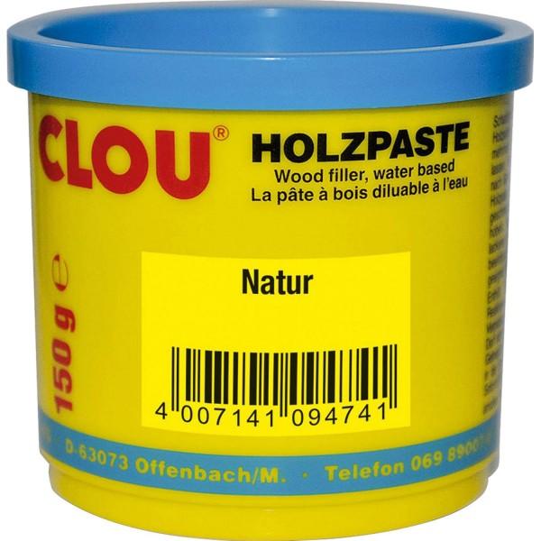 Clou Holzpaste natur 150 g