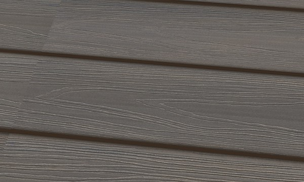 22 x 143 mm WPC Nature Deck SPEZIAL-UMMANTELT Farbton Granit,