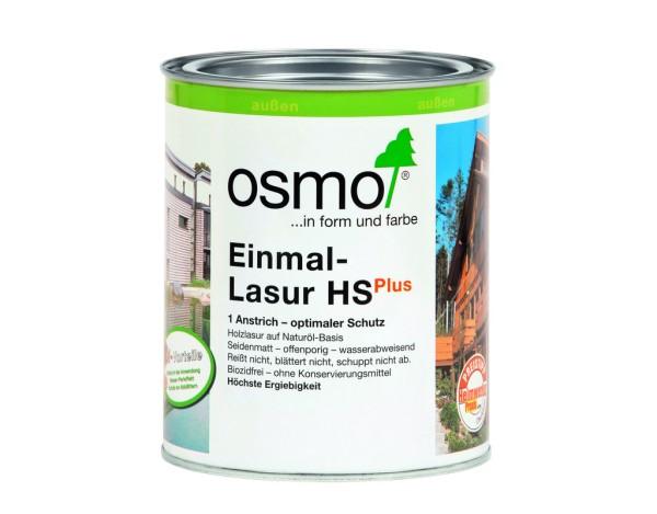 OSMO Einmal Lasur HS Plus Fichte-weiß 9211,  0,75l