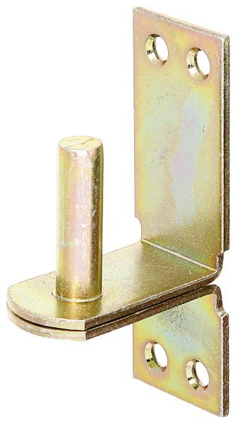 Alberts DII-Haken auf Platte verzinkt   16 mm        311469