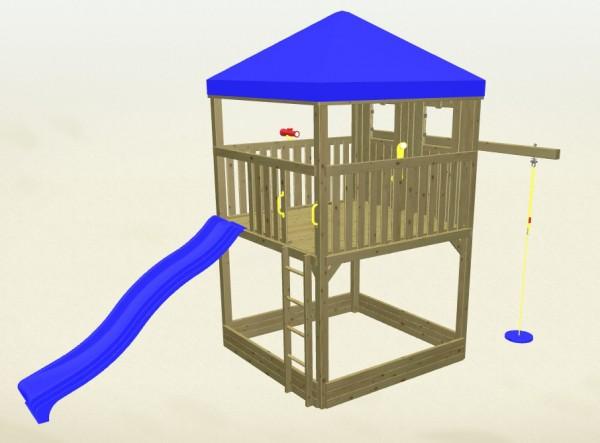 Winnetoo Spielturm Detektiv 3 Komplettset
