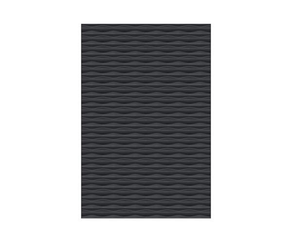 FLOW Rechteck anthrazit 120 x 180 cm, Nr. 2740