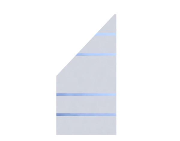 TR Glas Systemzaun Anschluß ALPHA LINKS 90x180/90 cm, Nr.2326