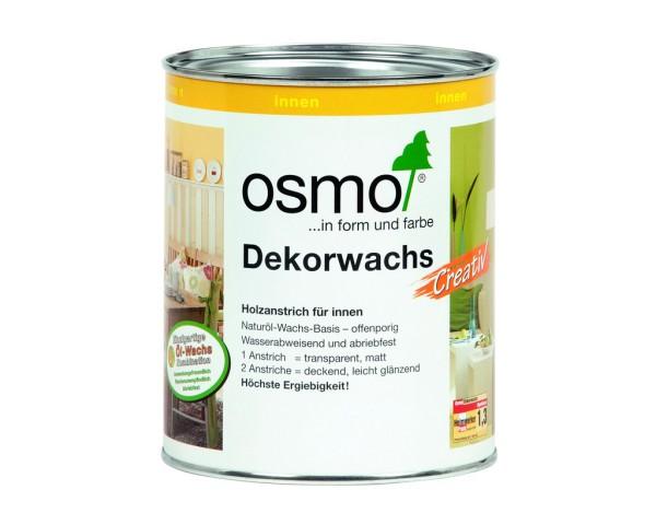 OSMO Dekorwachs weiß 3111, 0,375 l