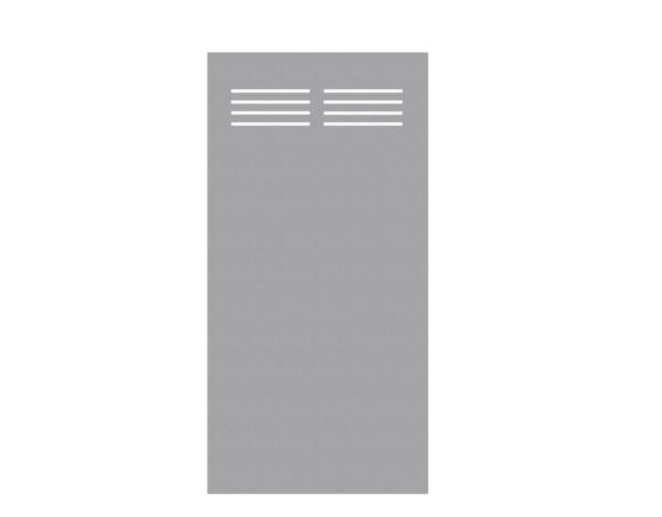Tr. Board Slot-Design titangrau 90 x 180 cm, Nr. 2725