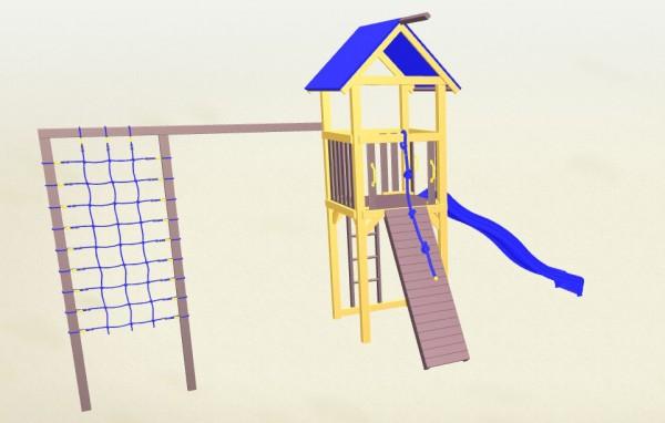 Winnetoo Spielturm Indianer 7 Komplettset